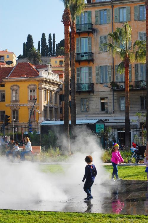 Mist sprayers - Promenade du Paillon