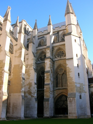 Westminster Abbey, courtyard